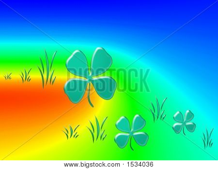 Abstraction Floral Picture