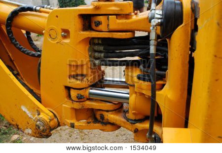 Motor Of Bulldozer