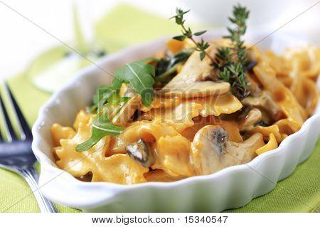 Vegetarian Pasta Dish