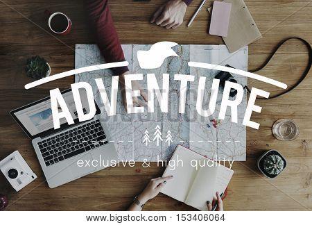 adventure Travel Journey Vacation Concept