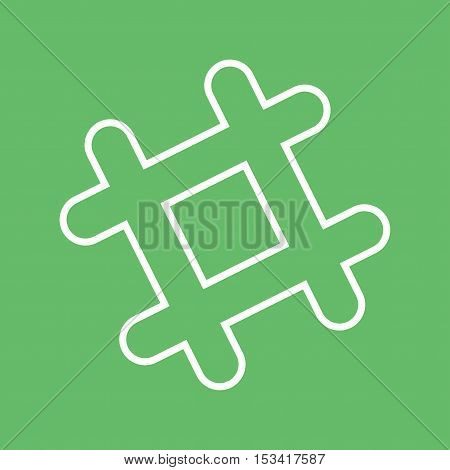 Microsoft, messenger, online icon vector image. Can also be used for social media logos. Suitable for mobile apps, web apps and print media.