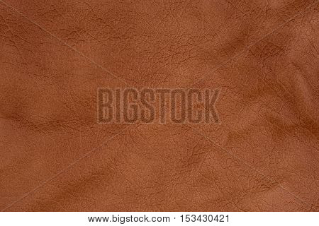 Natural brown leather texture.Abstract background, empty template.