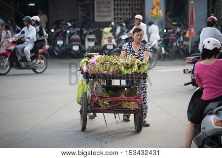 Fruit Vendor Ho Chi Minh City