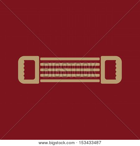 The expander icon. Expander symbol. Flat Vector illustration