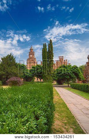 Chernivtsi National University - Yuriy Fedkovych Chernivtsi National University is the leading Ukrainian institution. Travel outdoor east european background