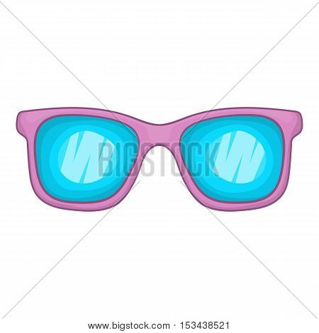 Glasses icon. Cartoon illustration of glasses vector icon for web design