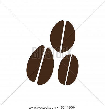 coffee beans  icon image vector illustration design