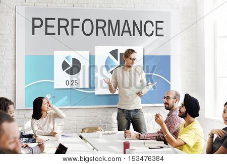 Progress Performance Marketing Planning Concept