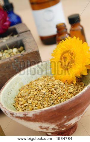 Herbalists Biene Blütenstaub