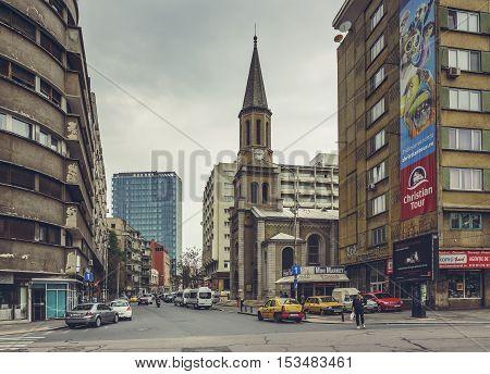 Lutheran Church, Bucharest, Romania