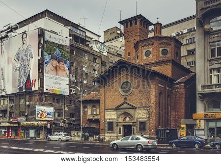 Italian Church, Bucharest, Romania