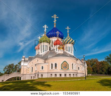 Holy Transfiguration Church in the village of Peredelkino in Moscow region