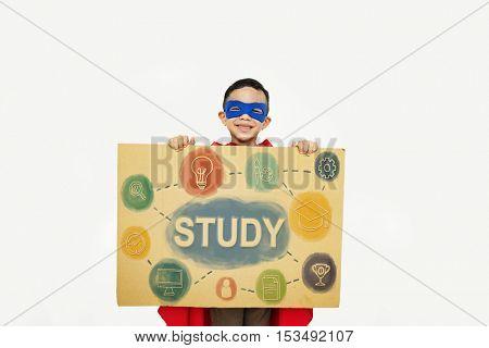 Kids Education Knowledge Study School Graphic