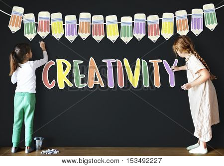 Creativity Education School Learning Study Concept