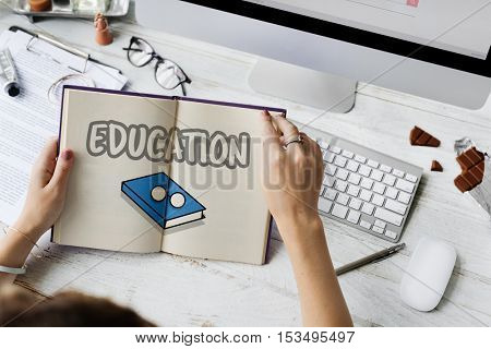 Education Book Concept