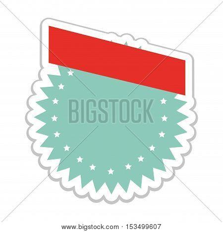 light blue emblem or label icon image vector illustration design