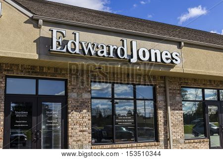Anderson - Circa October 2016: Edward Jones Consumer Investment and Financial Services Firm Location II