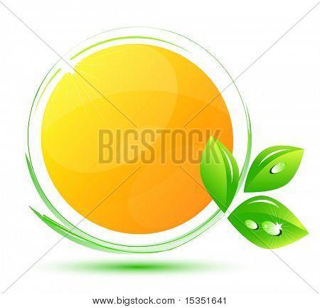 Sunny environmental symbol