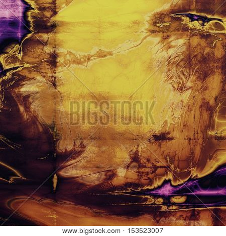 Ancient texture or damaged old style background with vintage grungy design elements and different color patterns: yellow (beige); brown; red (orange); purple (violet); pink