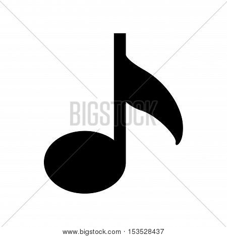 music note icon image vector illustration design