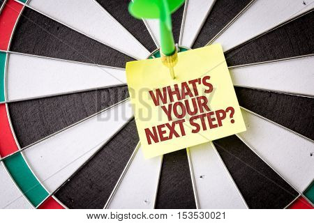 Whats Your Next Steps?