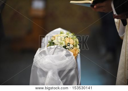 Beautiful Wedding Roses Bouquet
