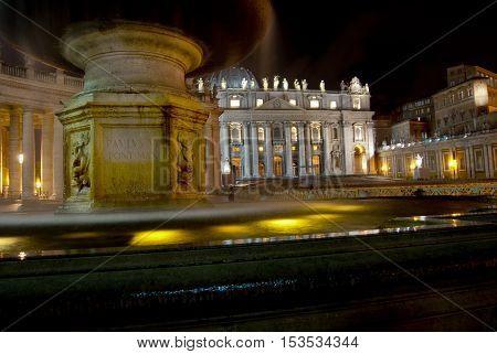 Saint Peter Basilica in Vatican city Rome