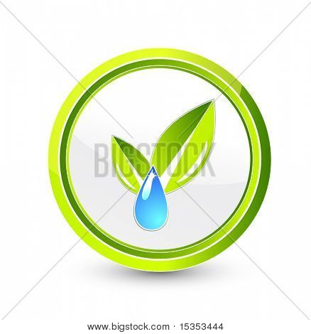Raster. Environmental symbol