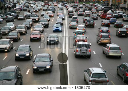 viele Autos