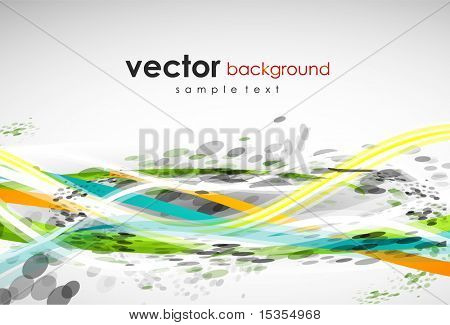 Grungy lines. Abstract vector background