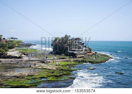 Ocean Temple Bali indonesia coastline Pura Tanah Lot 2