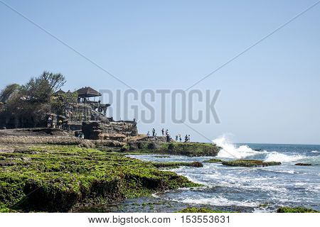 Ocean Temple Bali indonesia coastline Pura Tanah Lot 3