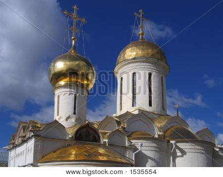 Domes Of Christian Church