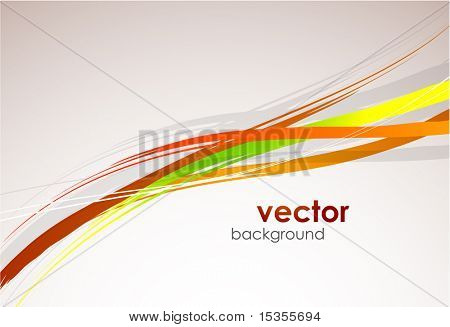 Abstract lines. Vector background