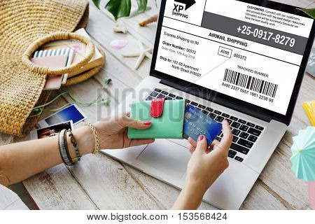 Shopping Online Consumerism Connection Sale Concept