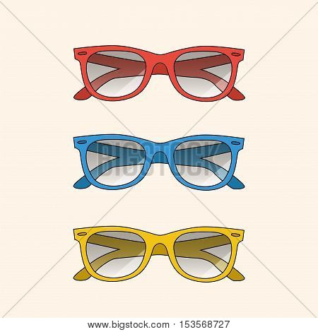 Vector summer sun bright points. eps jpg
