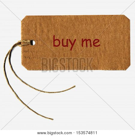 Buy Me Tag Label