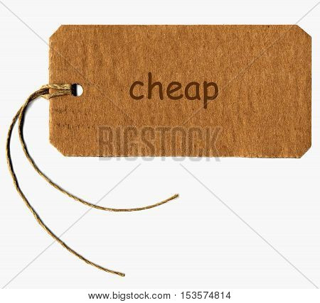 Cheap Tag Label