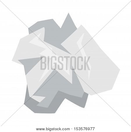Household waste garbage trash icon vector isolated