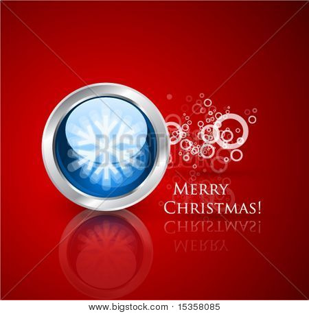 Christmas vector technological background