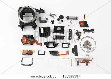 examined in detail the electronic shutter digital camera