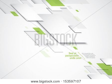 Vector of modern corporate tech background