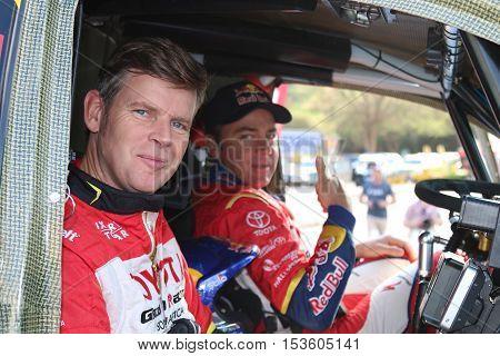 Dakar Legends Navigator, Dirk Von Zitzewitz And Driver  Giniel De Villiers