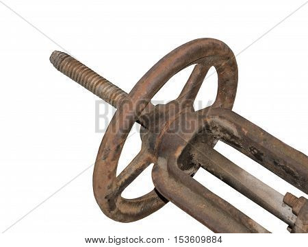 the big Valve on a white background