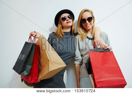 Young shoppers