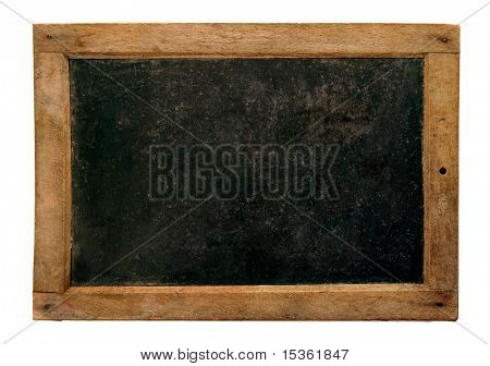 Old small school blackboard
