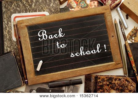 """Back to school!"" in vintage style"