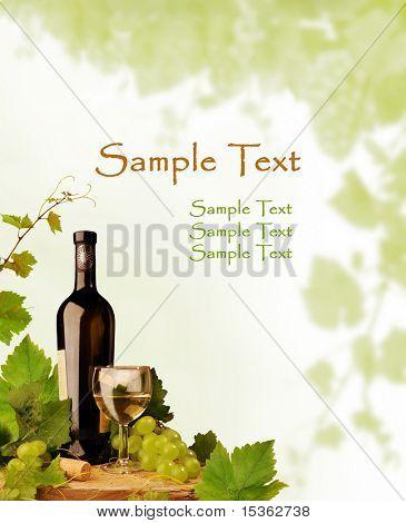 Fundo de vinho motivo para vinhos e outras ocasiões