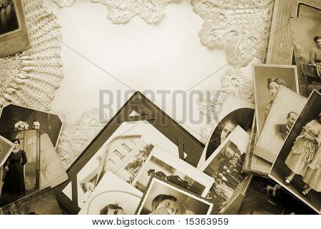 Vintage photos and memories