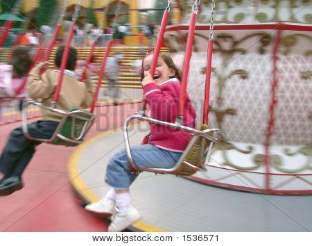 Girl At The Swing